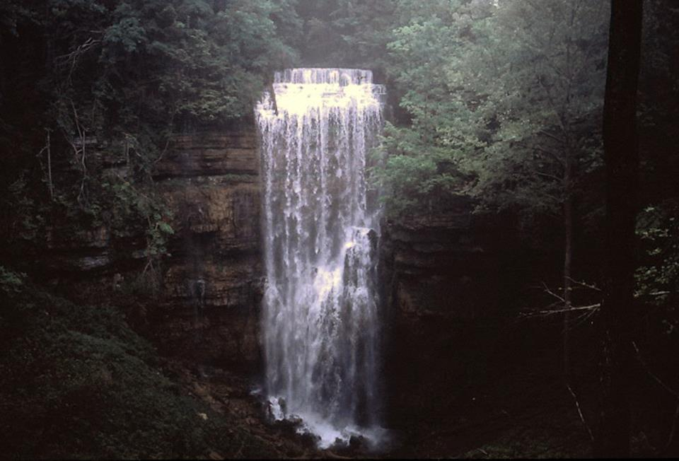 Virgin Falls, courtesy Ross Cardwell